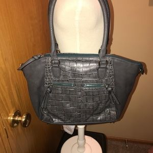 Handbags - Gray purse - style and lots of room